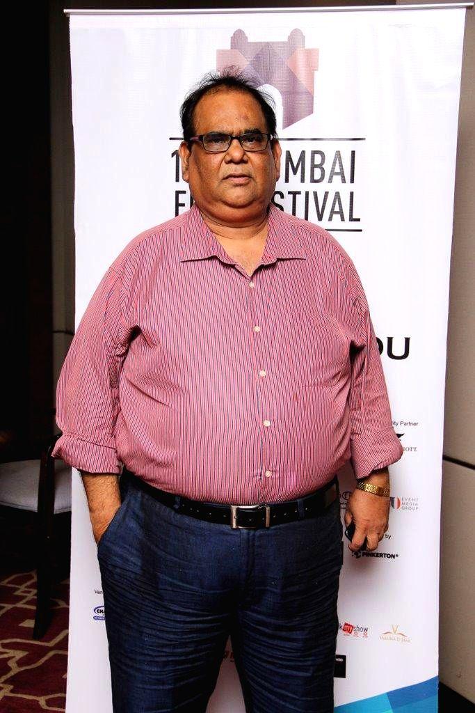 Actor Satish Kaushik the 5th day of 16th Mumbai Film Festival in Mumbai on Oct. 17, 2014. - Satish Kaushik