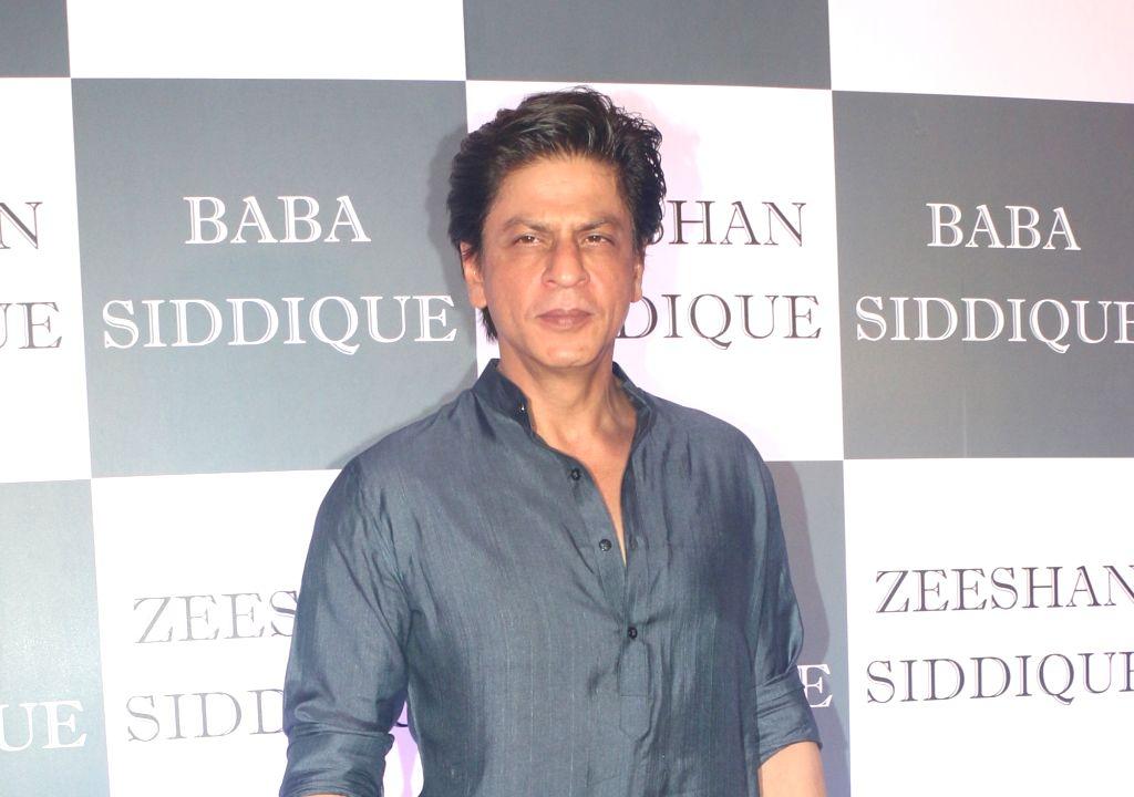 Mumbai: Actor Shah Rukh Khan at Congress leader Baba Siddique's Iftar party in Mumbai, on June 2, 2019. (Photo: IANS) - Shah Rukh Khan