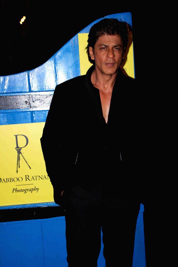 Actor Shahrukh Khan during the launch of Fashion photographer Dabboo Ratnani's 2015 calendar in Mumbai, on 5th Jan 2015 - Shahrukh Khan