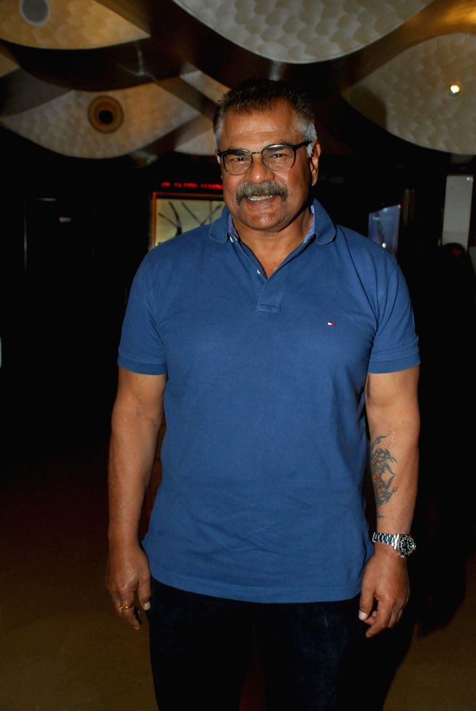 Actor Sharat Saxena during the My French Film Festival 2015 press meet and screening of film Eastern Boy at PVR Cinemas in Mumbai on 13th Jan 2015 - Sharat Saxena