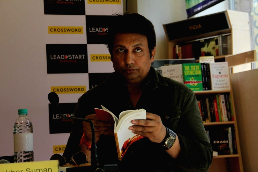 Actor Shekhar Suman launched author Zaarra Khader's book The Forbidden One by Leadstart Publishing in Mumbai on Feb 25, 2015.