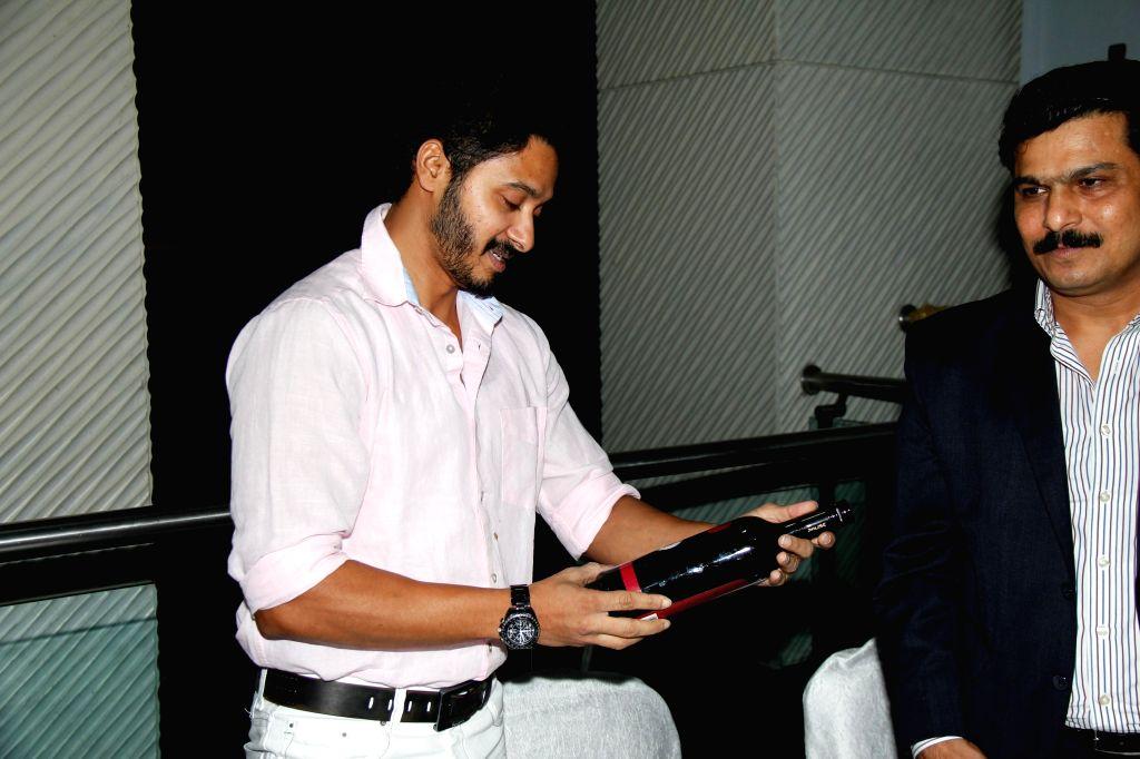 Actor Shreyas Talpade during Pause Wine tasting event in Mumbai on Dec. 12, 2014.