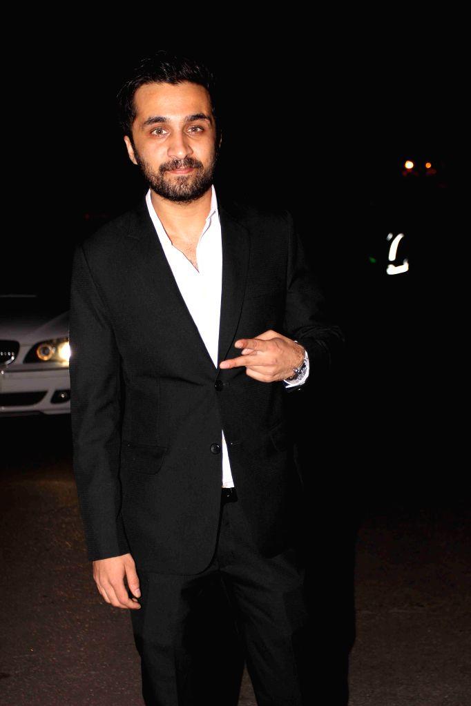 Actor Siddhanth Kapoor during the launch of designer Samyukta Nair`s night wear label Dandelion, in Mumbai, on Feb 5, 2015. - Siddhanth Kapoor