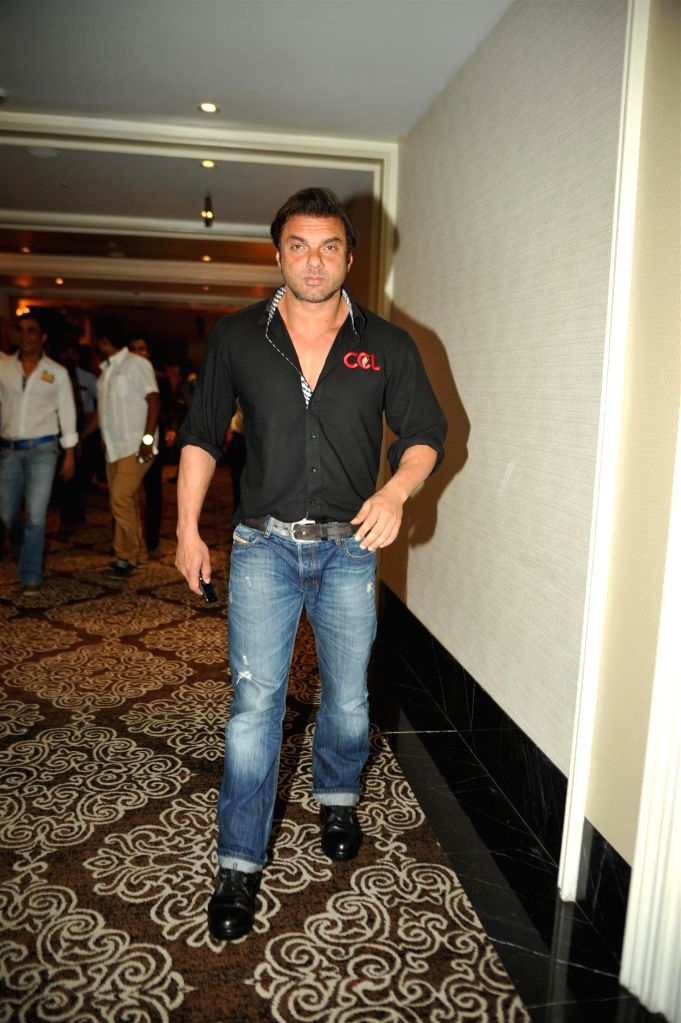 Actor Sohail Khan during the launch of 100 hearts, a social initiative by Celebrity Cricket League (CCL) season 5 in partnership with Hrudaya foundation, a non governmental organization in ... - Sohail Khan