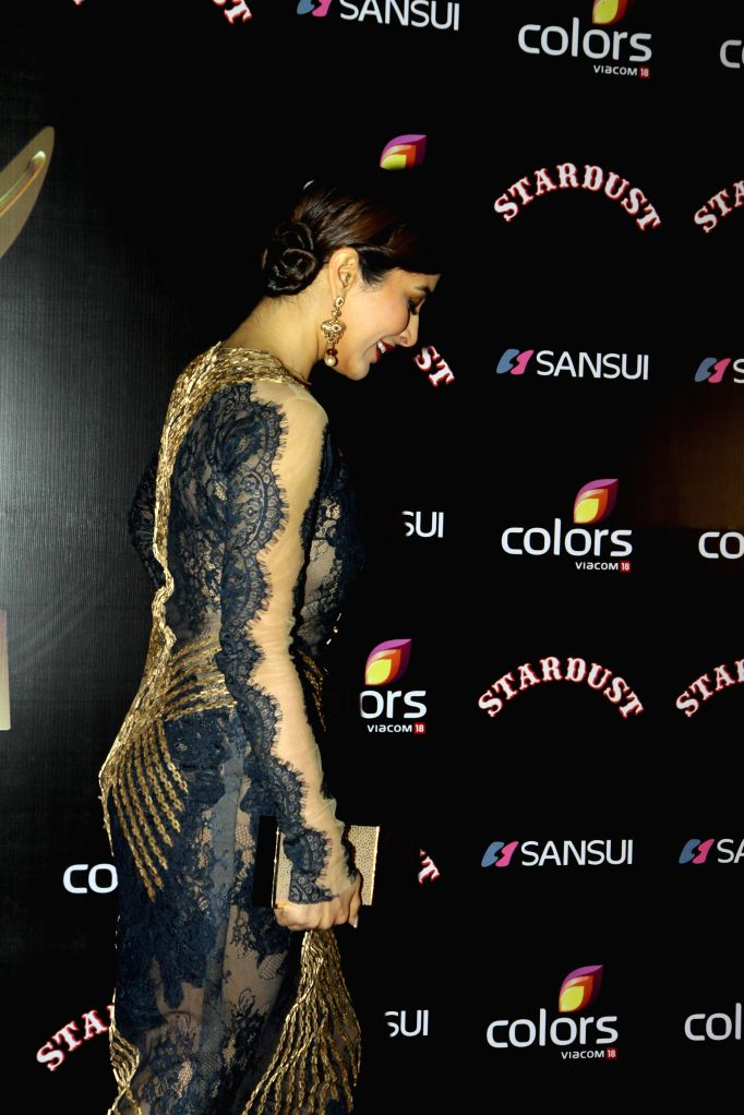 Actor Sophie Choudry during the Colors Stardust Awards 2014, in Mumbai on Sunday, Dec 14, 2014. - Sophie Choudry