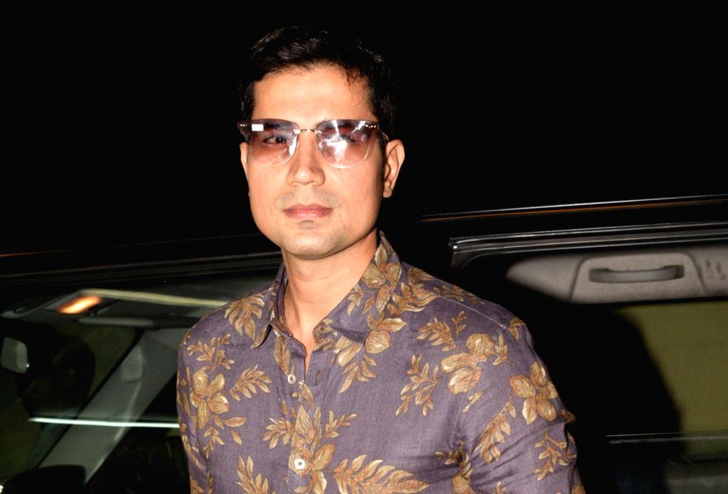 "Mumbai: Actor Sumeet Vyas at the screening of upcoming film ""No Fathers in Kashmir"" in Mumbai, on April 3, 2019. (Photo: IANS) - Sumeet Vyas"
