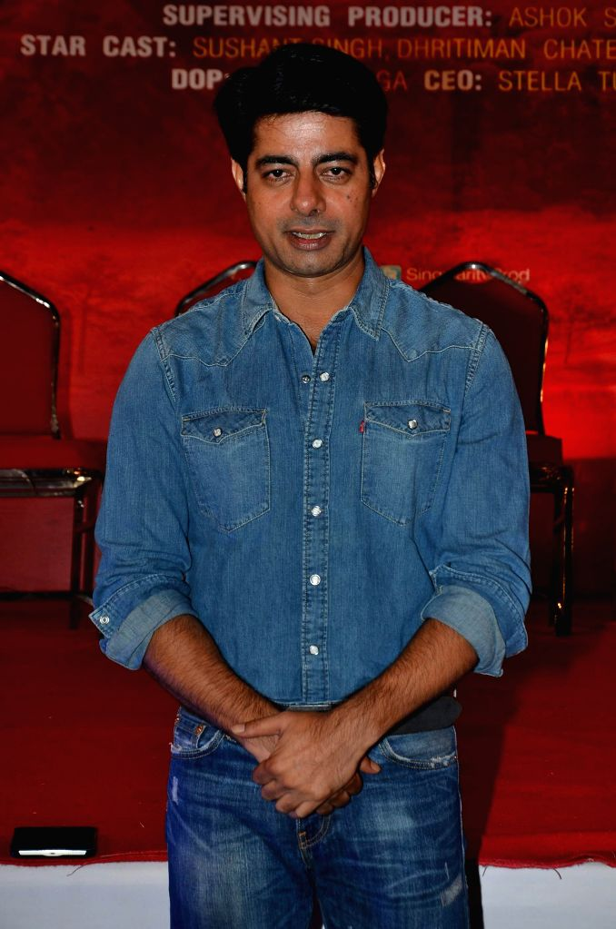 Actor Sushant Singh at the Red corridor film launch in Mumbai on Jan 18, 2015. - Sushant Singh