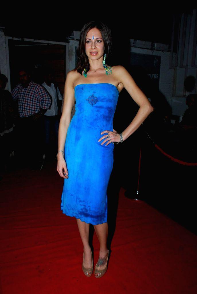 Actor Talia Benson during the music launch of film Sharafat Gayi Tel Lene in Mumbai on Thursday, Dec 11, 2014. - Talia Benson