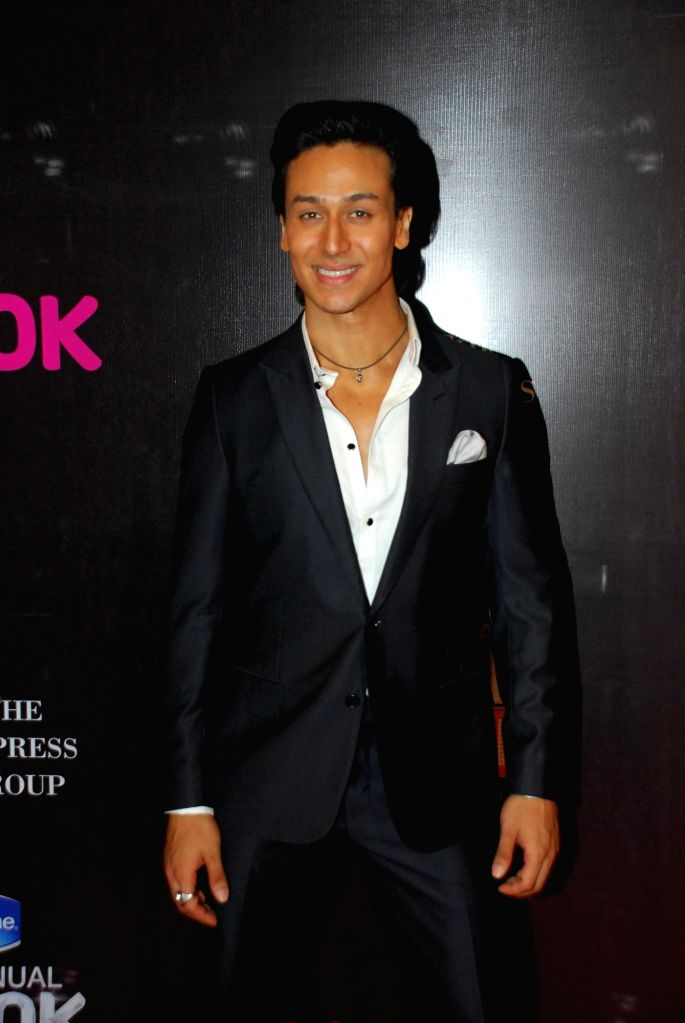 Actor Tiger Shroff during the 21st Annual Life OK Screen Awards in Mumbai on Jan. 14, 2015. - Tiger Shroff