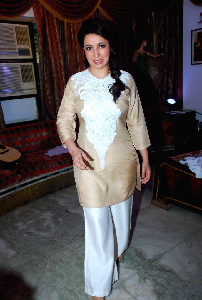 Actor Tisca Chopra during the trailer launch of upcoming film Rahasya in Mumbai, on Jan. 12, 2015. - Tisca Chopra