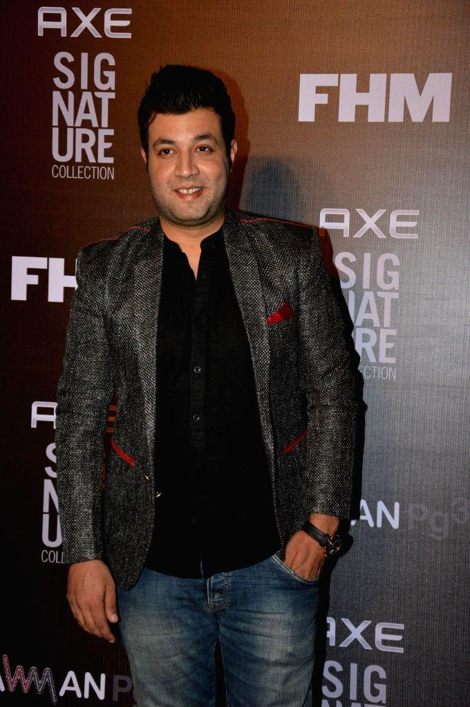 Actor Varun Sharma during the Trailer Bachelor of the Year Awards 2014 in Mumbai, on Dec. 22, 2014. - Varun Sharma
