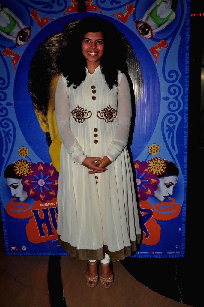 Actor Veera Saxena during the trailer launch of upcoming film 'Hunterrr'in Mumbai, on Jan. 15, 2015. - Veera Saxena