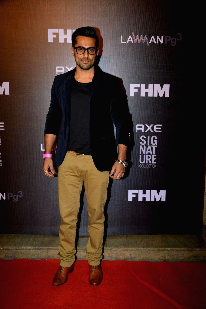 Mumbai: Actor Vishal Karwal during FHM Bachelor of the Year Awards 2014 in Mumbai, on Dec. 22, 2014. (Photo: IANS) - Vishal Karwal