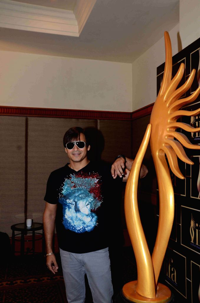 Actor Vivek Oberoi during the 16th IIFA Voting Weekend, in Mumbai on March 13, 2015. - Vivek Oberoi
