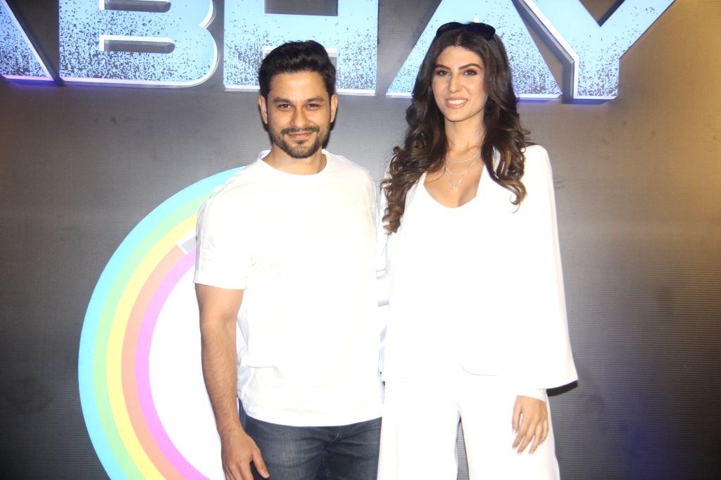 """Mumbai: Actors Kunal Khemu and Elnaaz Norouzi at the launch of their upcoming web series """"Abhay"""" in Mumbai, on Feb 4, 2019. (Photo: IANS) - Kunal Khemu and Elnaaz Norouzi"""