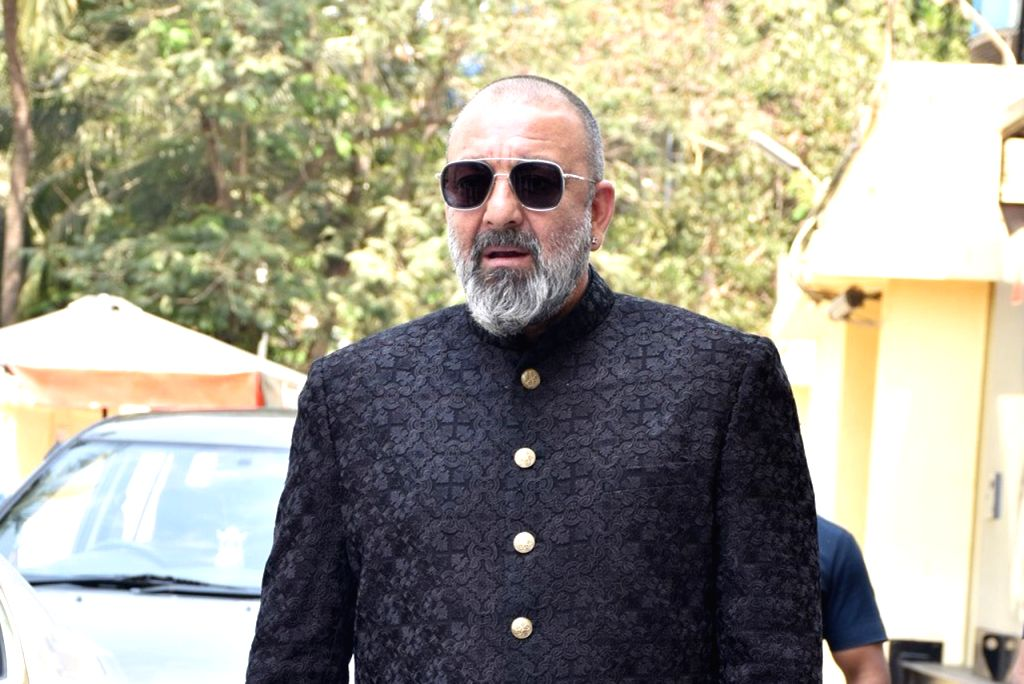 "Mumbai: Actors Sanjay Dutt at the teaser launch of their upcoming film ""Kalank"" in Mumbai, on March 12, 2019. (Photo: IANS) - Sanjay Dutt"