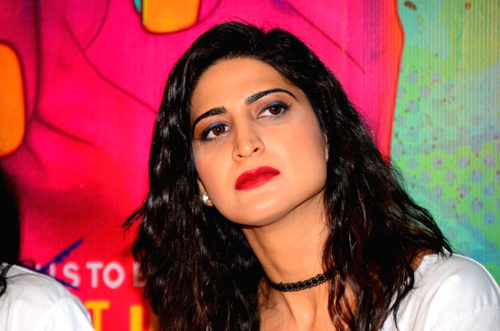 Mumbai: Actress Aahana Kumra during the trailer launch of film Lipstick Under My Burkha, in Mumbai on June 27, 2017. (Photo: IANS) - Aahana Kumra