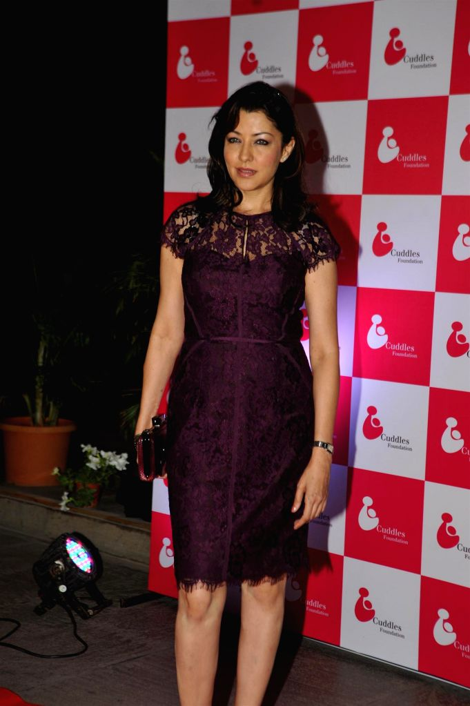 Actress Aditi Gowitrikar during the Cuddles Foundation 3rd Annual Charity Fund raiser event in Mumbai on 7th February 2015 - Aditi Gowitrikar