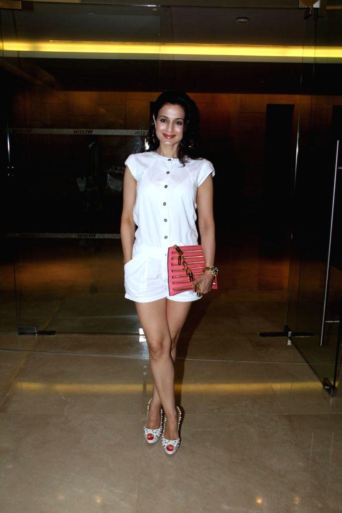 Actress Ameesha Patel during launch of Luxury Comfort Mattress in Mumbai on April 21, 2015. - Ameesha Patel