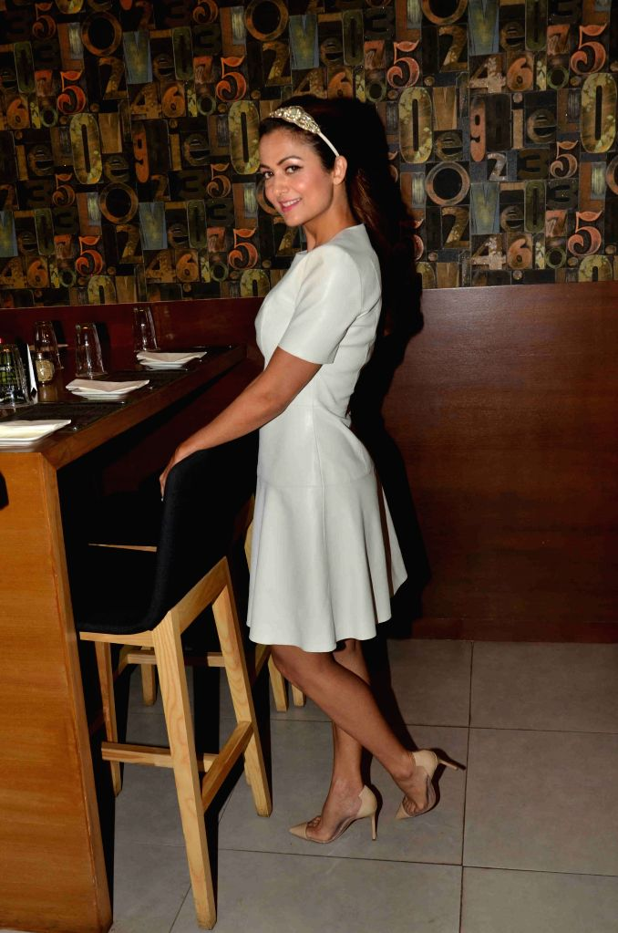 Actress Amrita Arora during the launch of Shine Young 2015 in Mumbai on 4th May 2015 - Amrita Arora