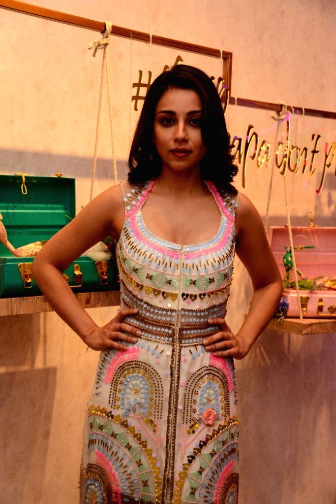 Mumbai: Actress Amrita Puri at a fashion studio in Mumbai, on March 4, 2019. (Photo: IANS) - Amrita Puri
