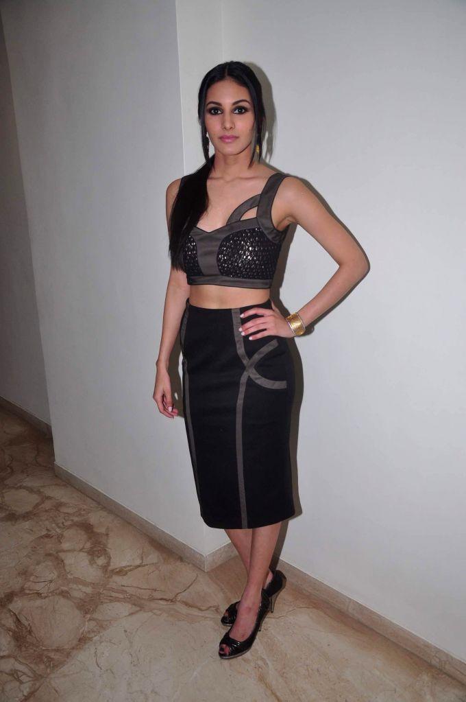 Actress Amyra Dastur at film Mr. X first look launch in Mumbai on March 4, 2015. - Amyra Dastur