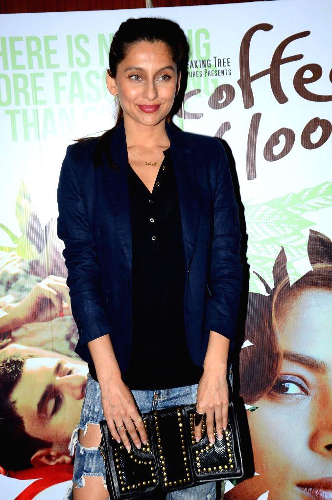 Actress Anusha Dandekar during screening film Coffee Bloom in Mumbai on March 5, 2015. - Anusha Dandekar