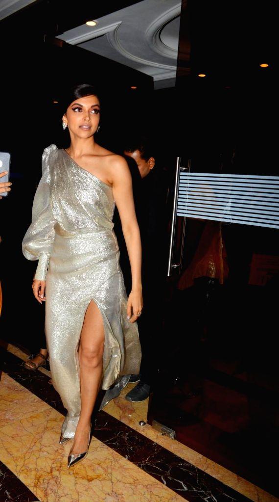 :Mumbai: Actress Deepika Padukone arrives at Elle Beauty Awards 2018 at Taj Land's End in Mumbai on Oct 6, 2018. (Photo: IANS).