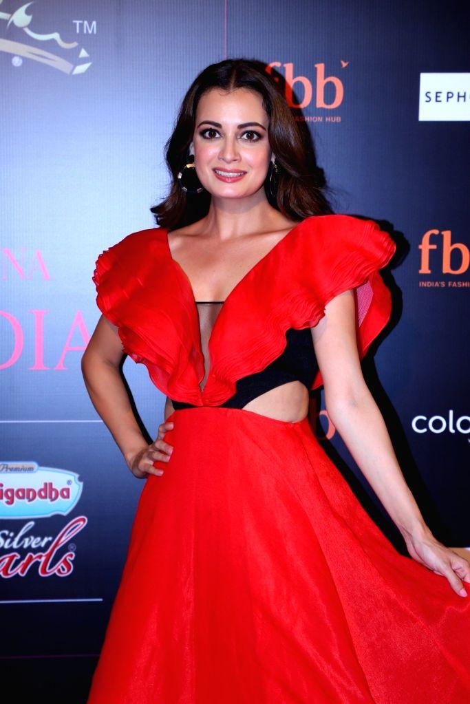 Mumbai: Actress Dia Mirza during a programme organised by fbb Colors Femina Miss India 2019, in Mumbai, on May 26, 2019. (Photo: IANS) - Dia Mirza