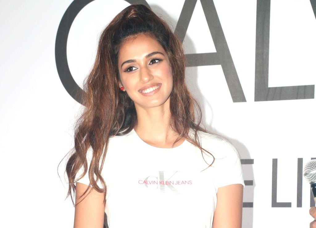 Mumbai: Actress Disha Patani at Calvin Klein watches latest collection preview, in Mumbai, on April 10, 2019. (Photo: IANS) - Disha Patani