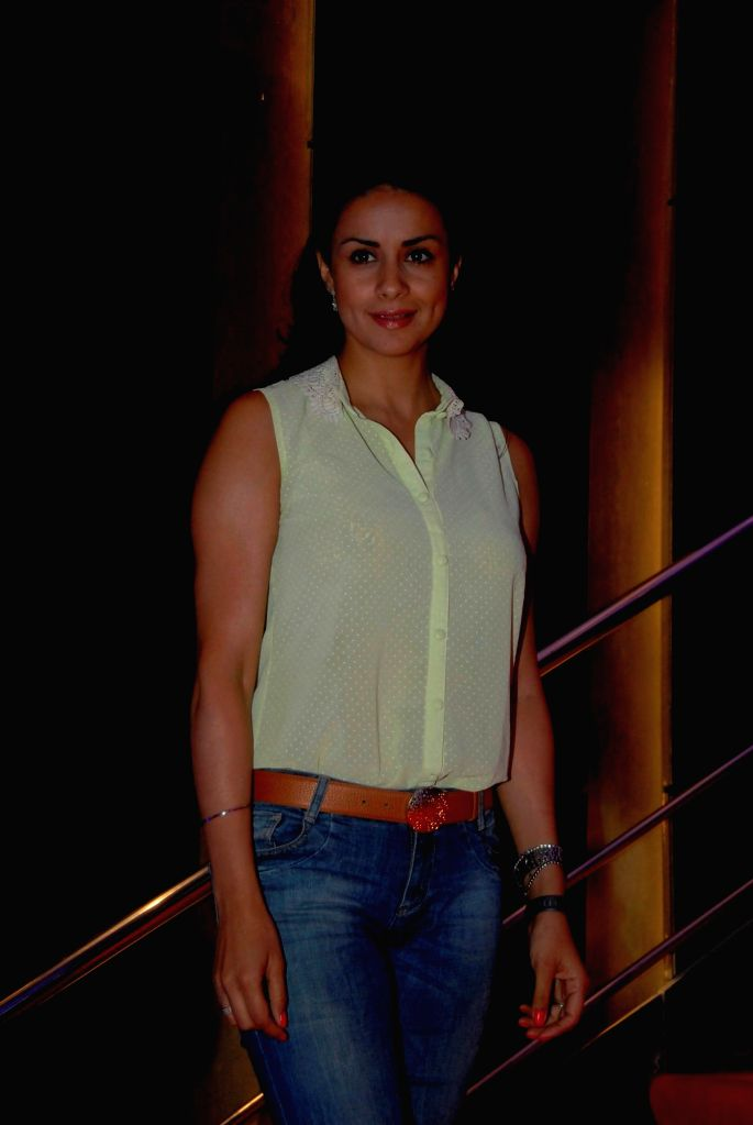 Actress Gul Panag during a painting exhibition titled The Art of Extraordinary People by Indian Mouth and Foot Painting Artists (IMFPA) hosted by Gautam Ahuja, MD, Ahuja Constructions in ... - Gul Panag
