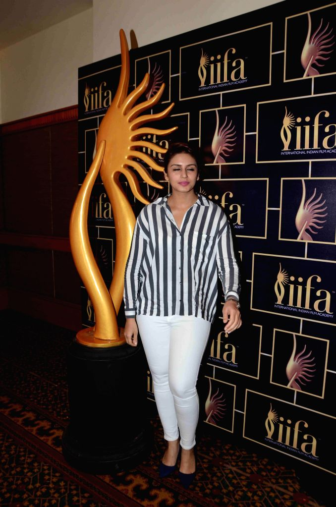 Actress Huma Qureshi during the 16th IIFA Voting Weekend, in Mumbai on March 13, 2015. - Huma Qureshi
