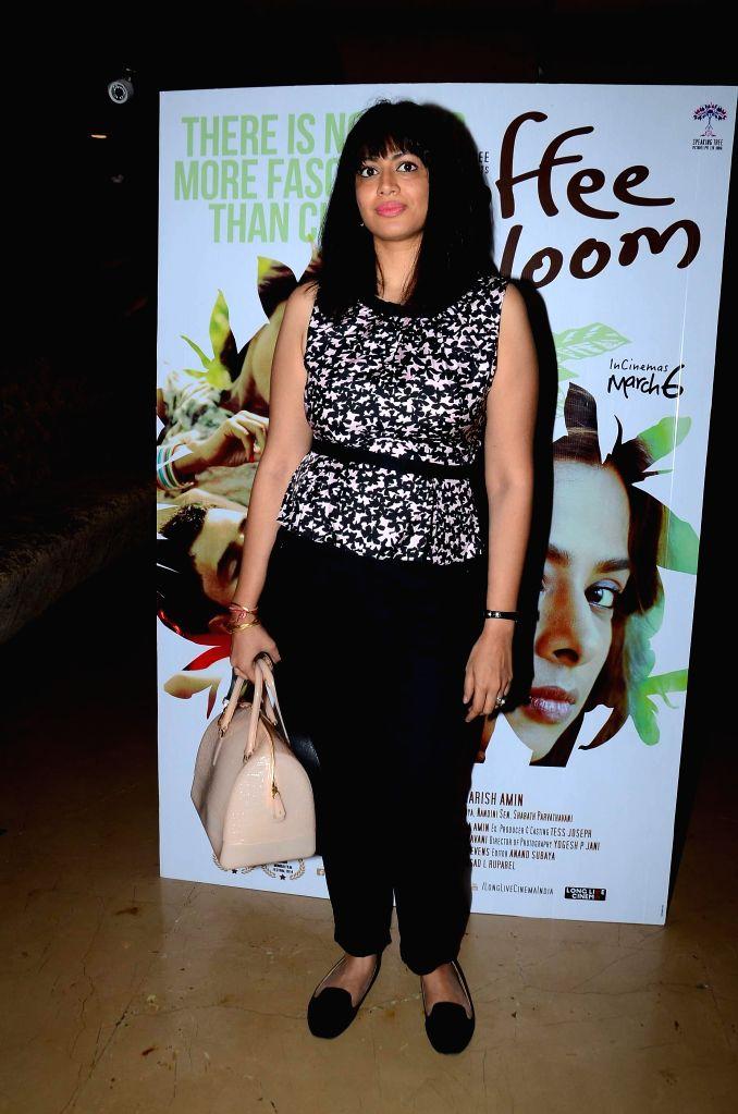 Actress Ishwari Bose Bhattacharya during screening film Coffee Bloom in Mumbai on March 5, 2015. - Ishwari Bose Bhattacharya