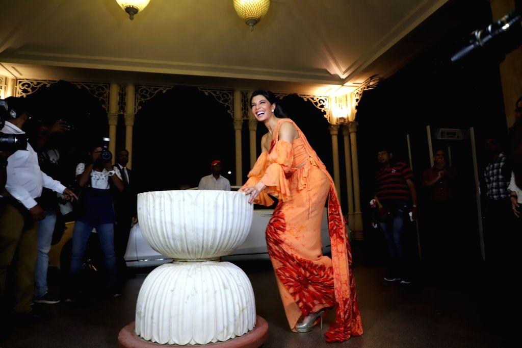 Mumbai: Actress Jacqueline Fernandez at a press conference of Sri Lanka Tourism, in Mumbai, on June 24, 2019. (Photo: IANS) - Jacqueline Fernandez