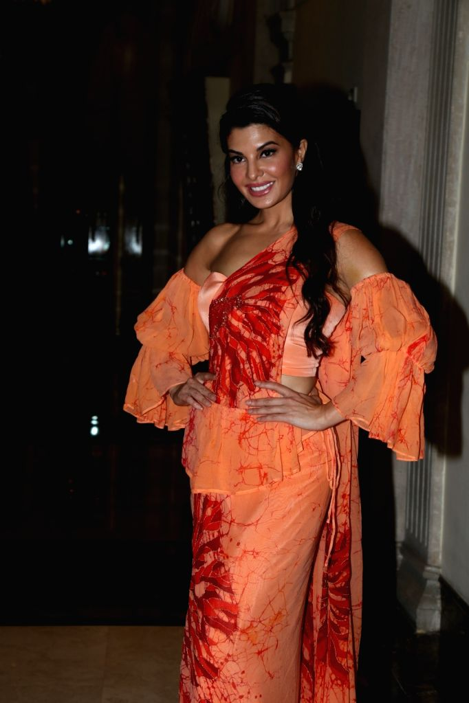 Mumbai: Actress Jacqueline Fernandez at a press conference of Sri Lanka Tourism, in Mumbai, on June 24, 2019. (Photo: IANS) - Jacqueline Fernandez