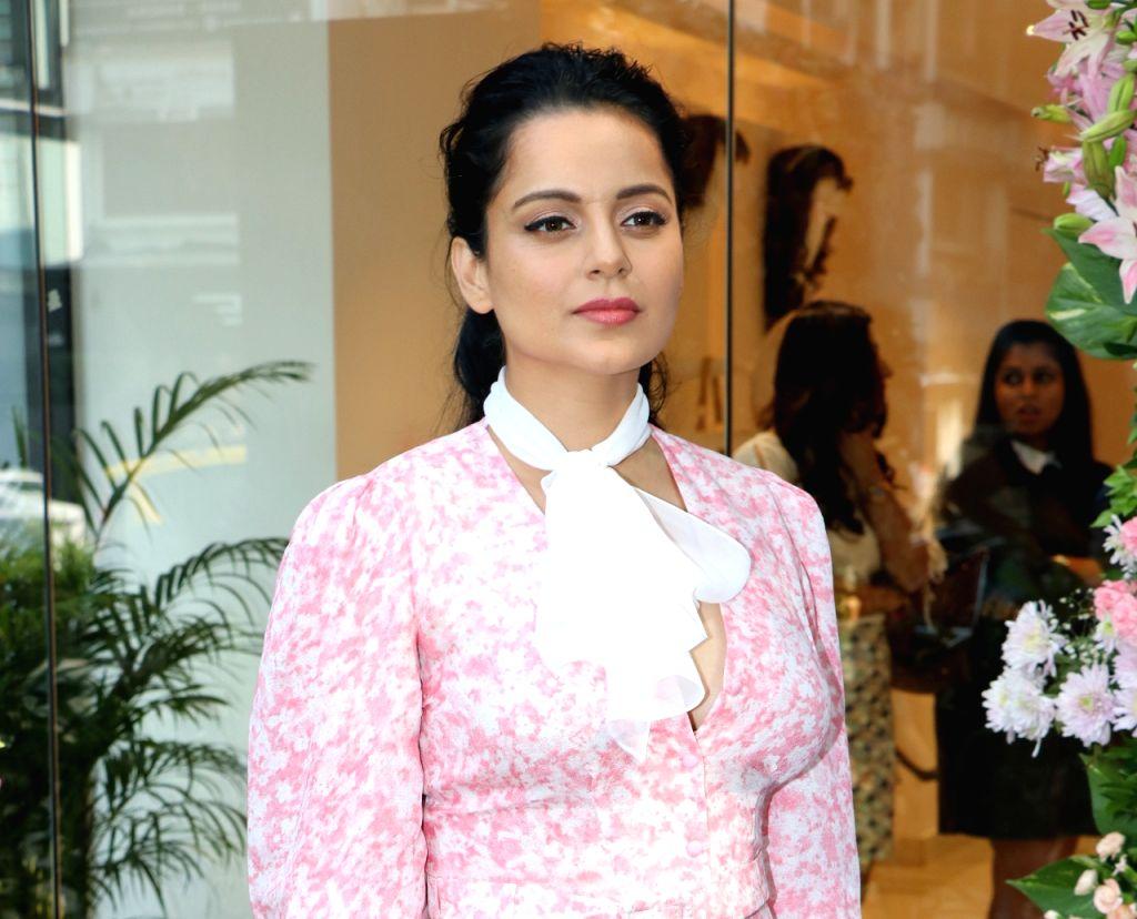 Mumbai: Actress Kangana Ranaut at the launch Femina Flaunt Beauty Studio in Mumbai on Nov 12, 2019. (Photo: IANS) - Kangana Ranaut