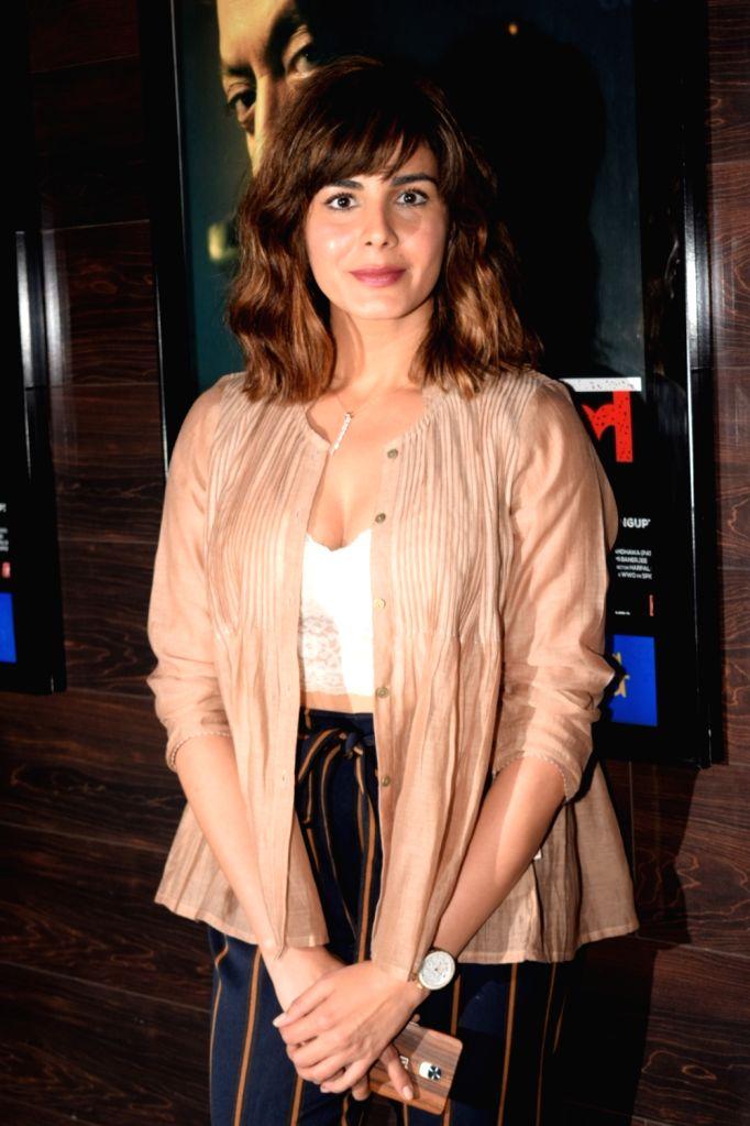 "Mumbai: Actress Kirti Kulhari at the special screening of her upcoming film ""Blackmail"" in Mumbai on April 4, 2018. (Photo: IANS) - Kirti Kulhari"