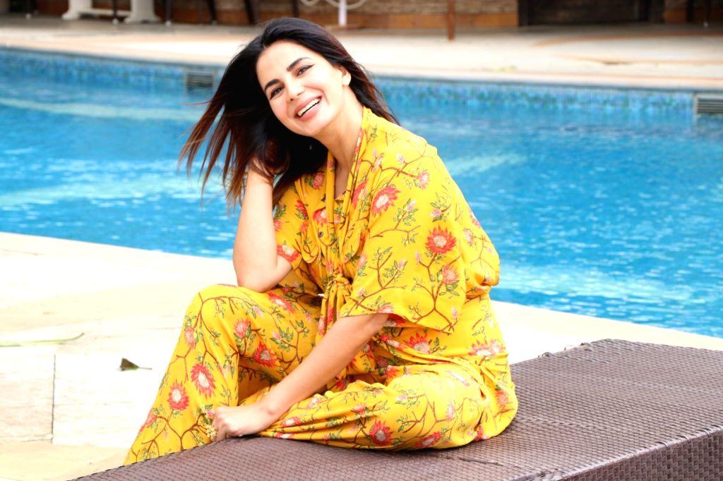 "Mumbai: Actress Kirti Kulhari during the promotions of her upcoming film ""Mission Mangal"" in Mumbai on Aug 7, 2019. (Photo: IANS) - Kirti Kulhari"