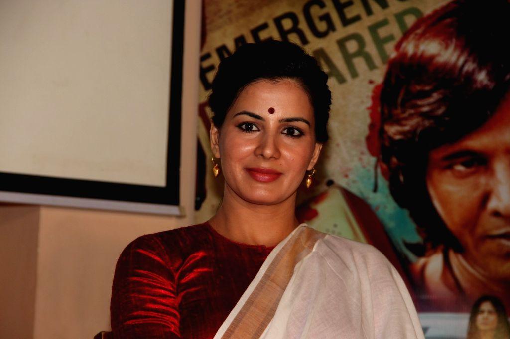 Mumbai: Actress Kirti Kulhari during the trailer launch of film San Pachattar 75, in Mumbai, on June 7, 2016. (Photo: IANS) - Kirti Kulhari