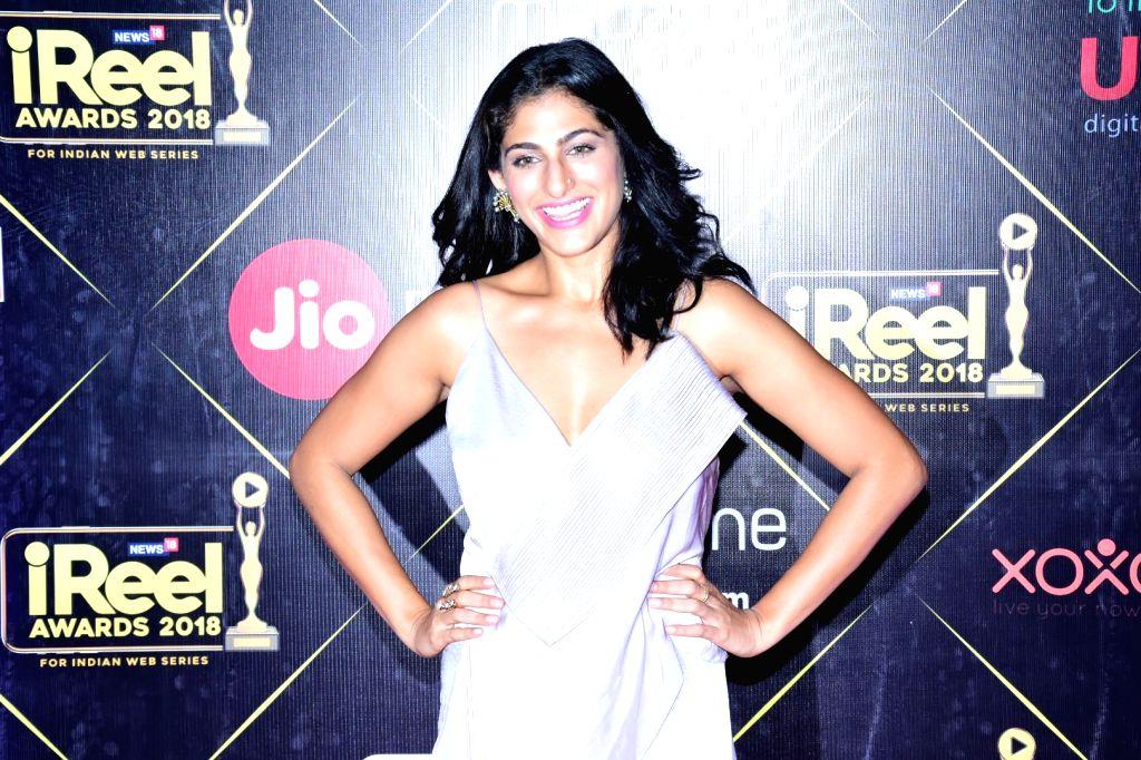 Mumbai: Actress Kubbra Sait  at the iReel Awards 2018 in Mumbai on Sept 6, 2018. (Photo: IANS) - Kubbra Sait
