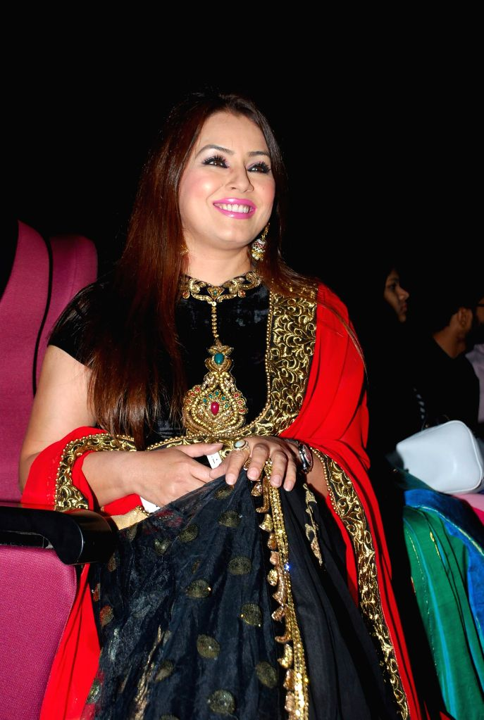 Actress Mahima Chaudhry at the trailer launch of film ''Hey Bro'' in Mumbai, on Jan 15, 2015. - Mahima Chaudhry