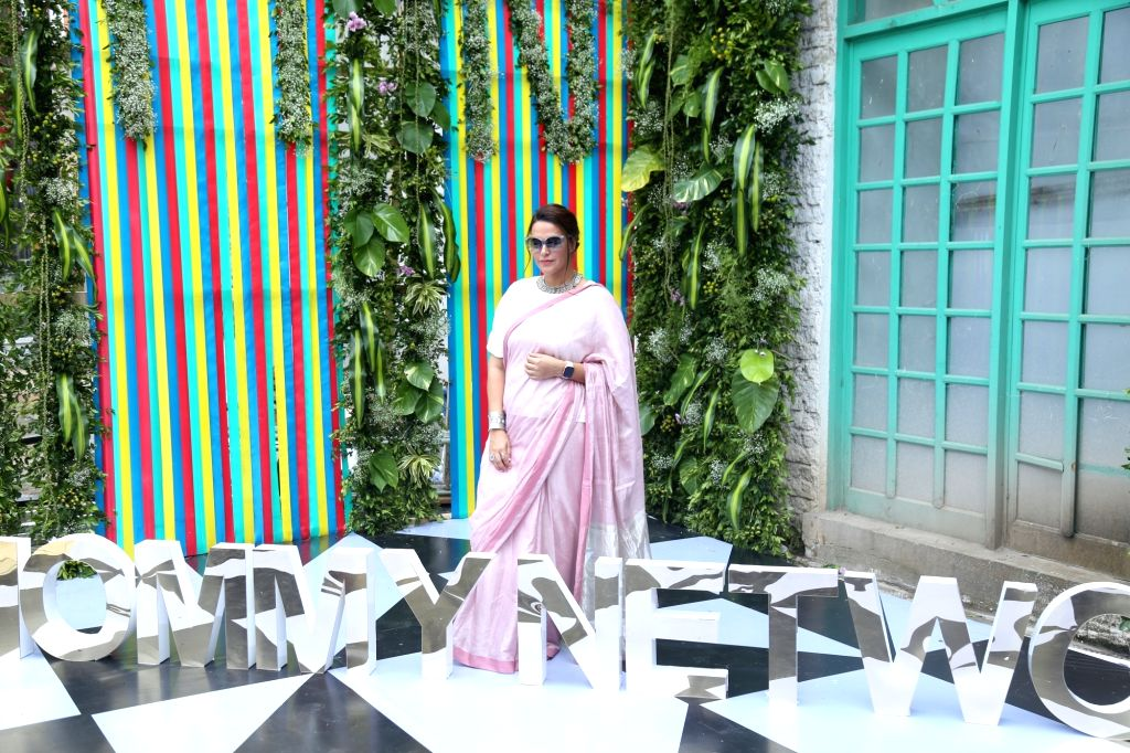 Mumbai: Actress Neha Dhupia during a programme in Mumbai on Oct 5, 2019. (Photo: IANS) - Neha Dhupia
