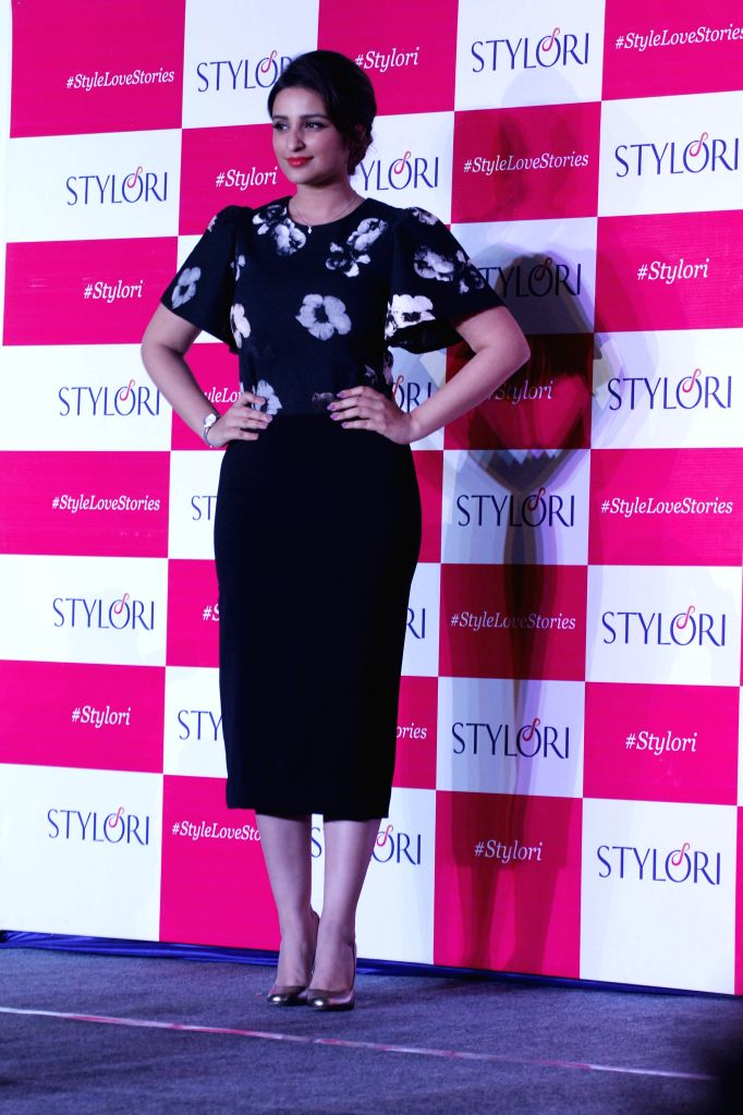Actress Parineeti Chopra during the launch of Stylori, an online jewellery store for everyday fashion jewellery in Mumbai on March 25, 2015.