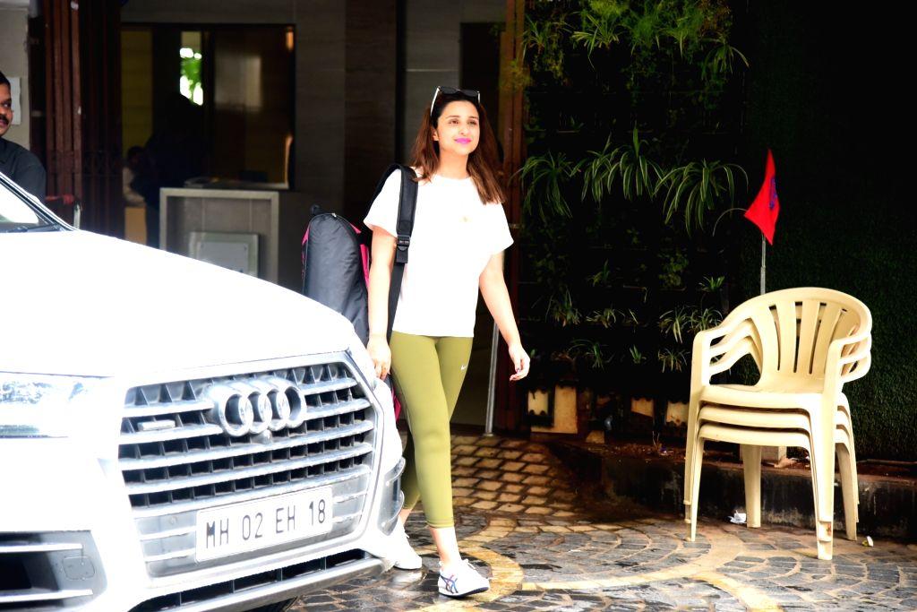 Mumbai: Actress Parineeti Chopra seen at Khar in Mumbai, on July 3, 2019. (Photo: IANS) - Parineeti Chopra