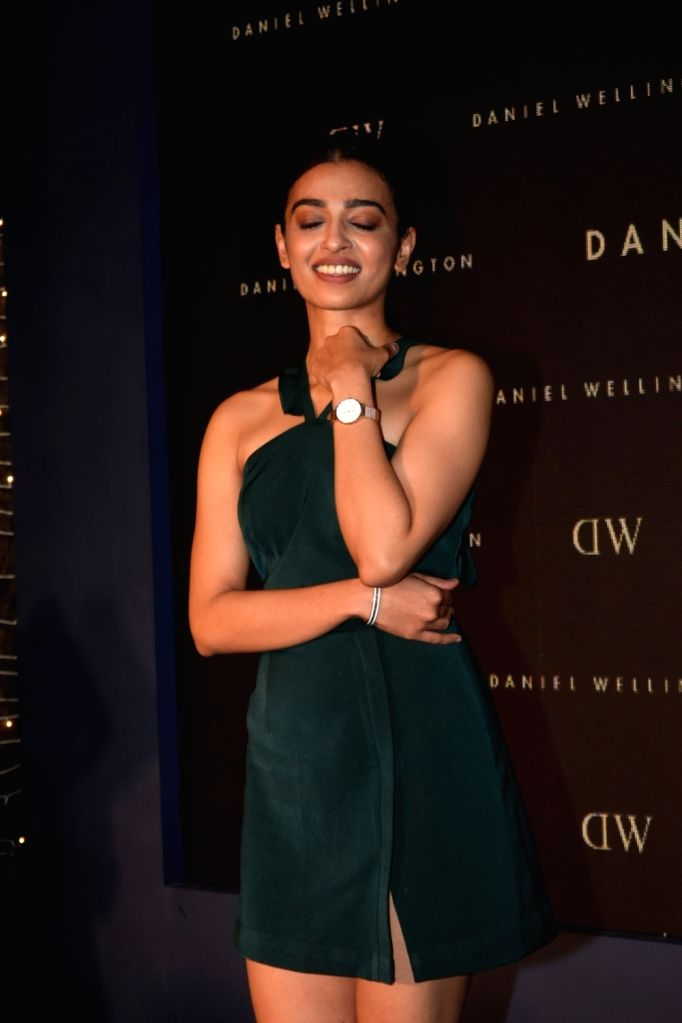 : Mumbai: Actress Radhika Apte during a programme organised by Daniel Wellington - a Swedish watch company in Mumbai on Oct 17, 2018. (Photo: IANS).