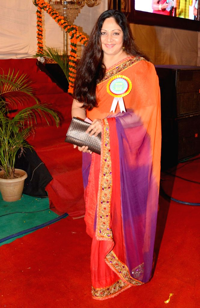 Actress Rati Agnihotri during the 34th annual day celebration of Children`s Welfare Centre High School in Mumbai, on Feb 15, 2015. - Rati Agnihotri
