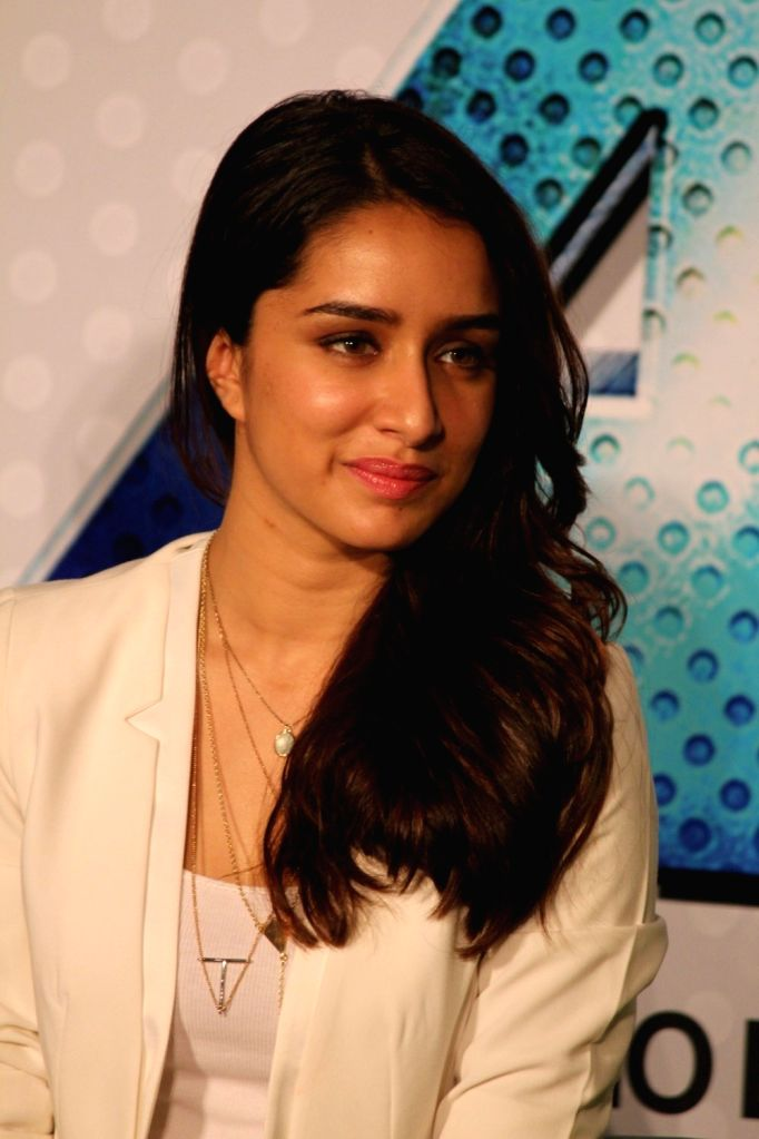 Actress Shraddha Kapoor during the trailer launch of film Any Body Can Dance 2 (ABCD 2) in Mumbai, on April 23, 2015. - Shraddha Kapoor