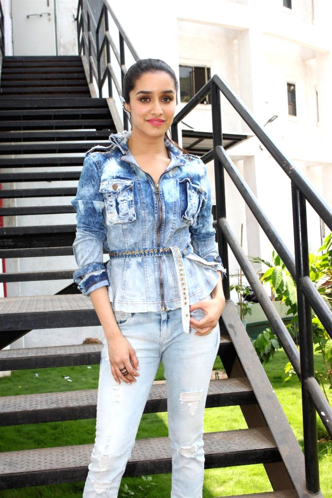 Actress Shraddha Kapoor on the sets of Nach Baliye 7 during the promotion of his upcoming film Any Body Can Dance 2 (ABCD2) in Mumbai on May 17, 2015. - Shraddha Kapoor