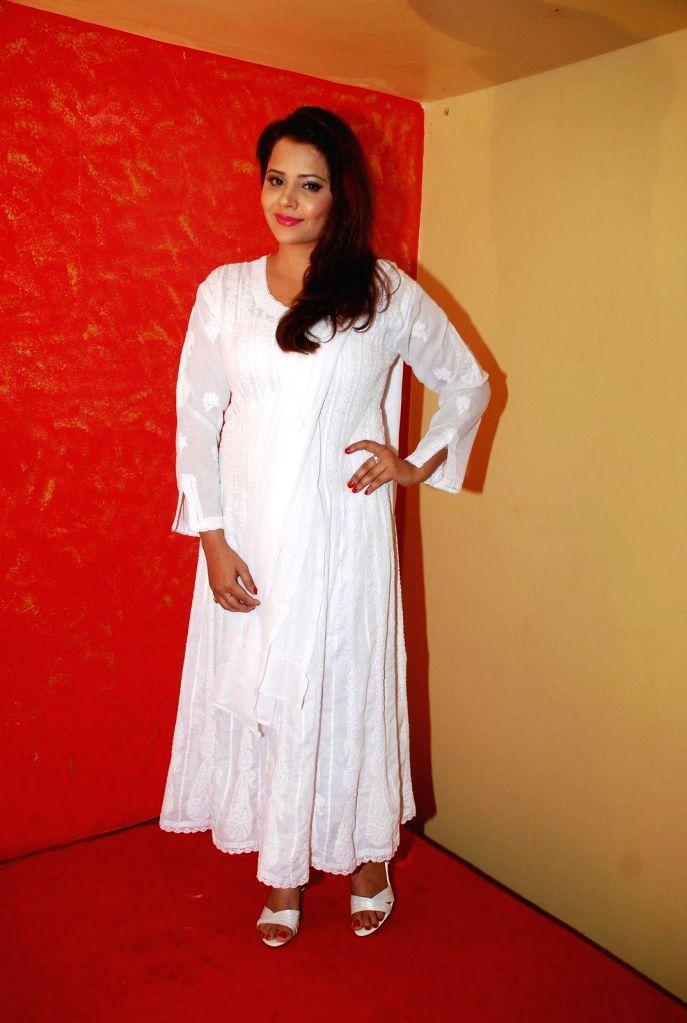 Actress Shweta Sharma during the music launch of film Round Figure  in Mumbai on Dec 26, 2014. - Shweta Sharma