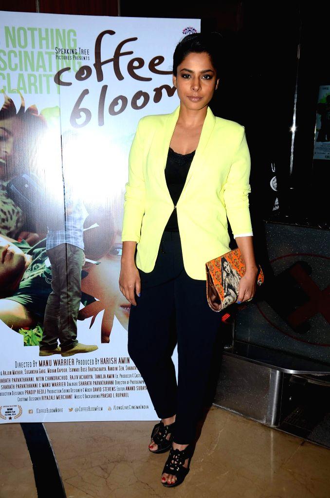 Actress Sugandha Garg during screening film Coffee Bloom in Mumbai on March 5, 2015. - Sugandha Garg